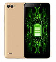 Itel A44 Power Gold