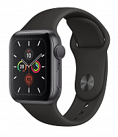 Умные часы Apple Watch Series 5 GPS 44mm Aluminum Case with Sport Band Space Grey заменённый