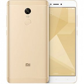 Xiaomi Redmi note 4X 4/64Gb Gold (Snapdragon)