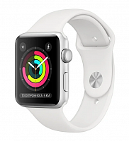 Apple Watch Series 3 42mm Aluminum Case with Sport Band White уценённый